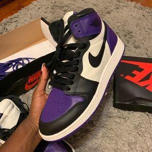"Jordan 1 ""Court Purple"" GS"
